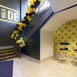 Sidewalk Cinema Stairwell Lobby