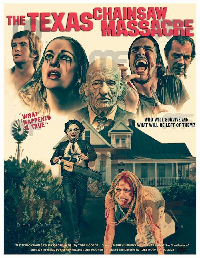 The Texas Chain Saw Massacre (1974) Phone Wallpaper
