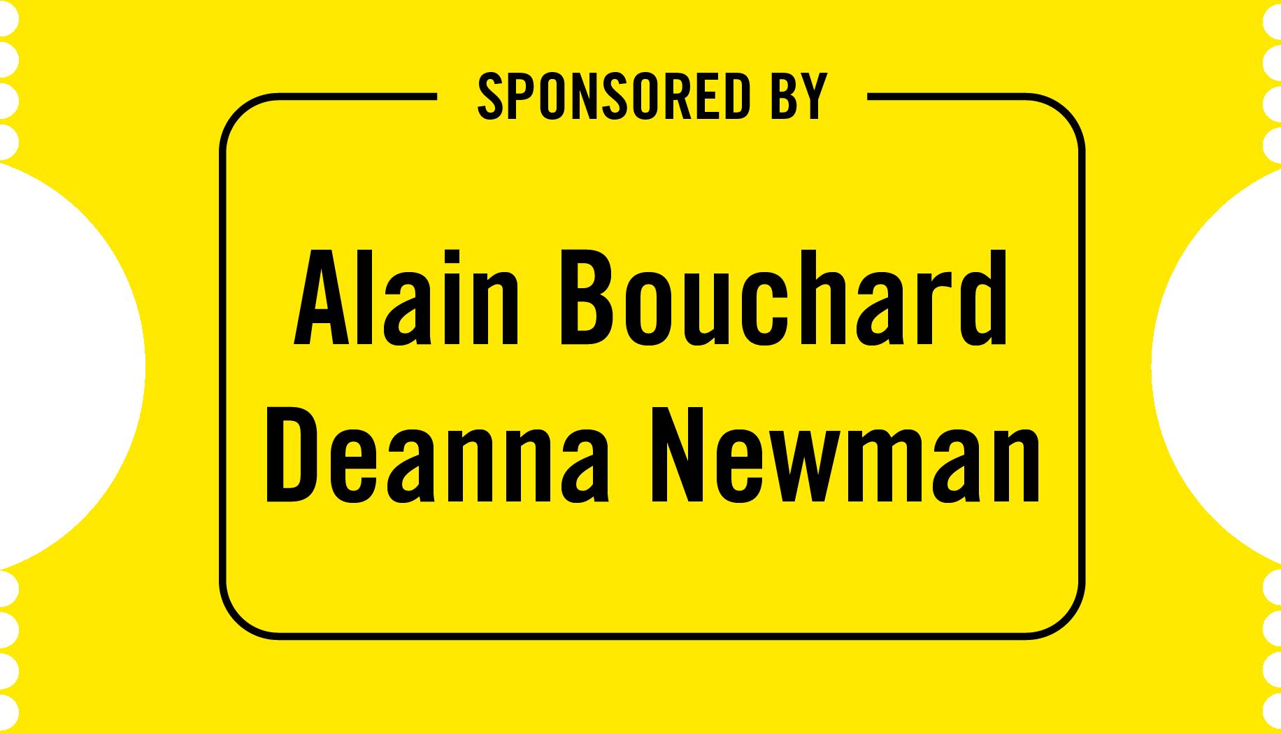 Alain Bouchard & Deanna Newman